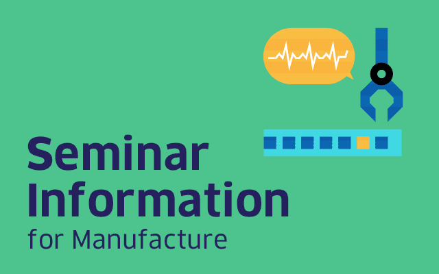 Seminar on using AI for increasing manufacturing efficiency