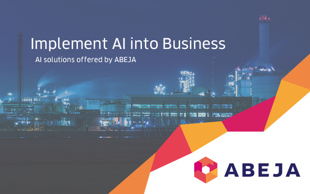 Implement AI into Business ABEJA Solution Special website